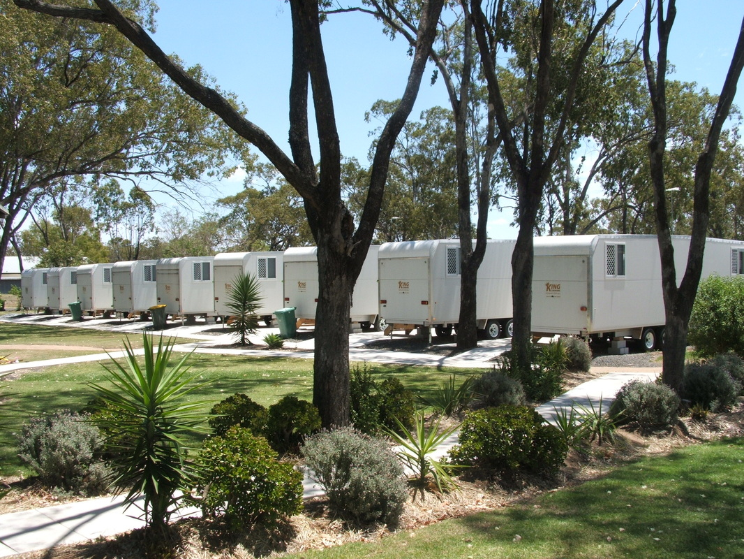 Workforce rooms at Jandowae Accommodation Park